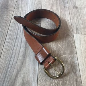 EUC Madewell Brown Italian Leather Belt XS